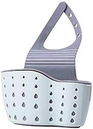 Oban Kitchen Sink Caddy Sponge Holder Hang Basket for Scrubber Dish Brush Kitchen Accessories Organizer Double