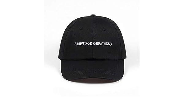 Strive for grandeur Papa Chapeau Coton Lebron James Casquette de baseball Snapback Hat
