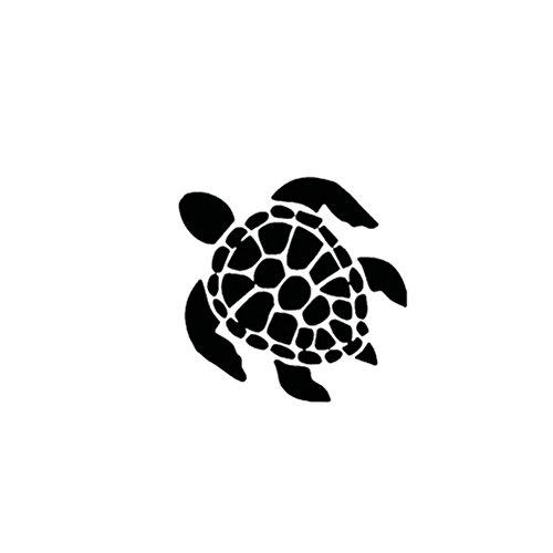 (VORCOOL Turtle Schildkröte Aufkleber selbstklebende Autotattoo)