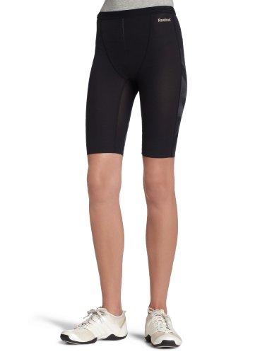 Reebok Womens EasyTone Toning Inner Shorts Size L, Schwarz, Größe L