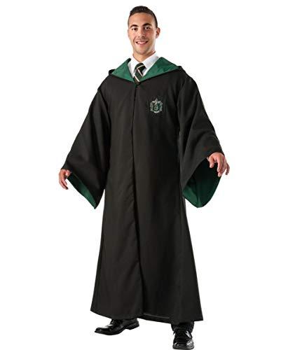 Slytherin Robe Replika DLX als Lizenziertes Harry Potter Kostüm für Fantasyfans Standard