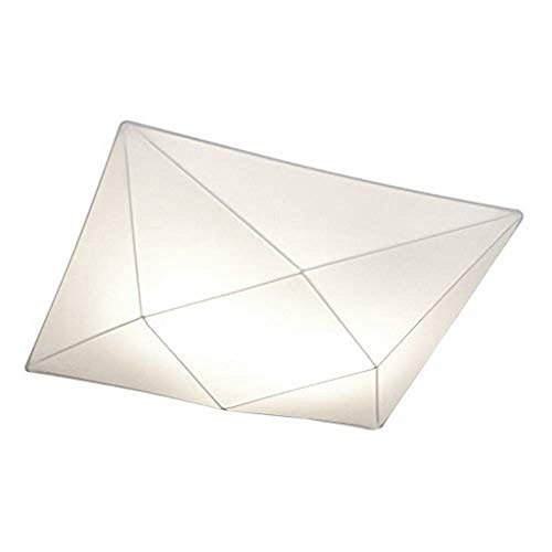 Ole By Fm Iluminacion - Plafon De Techo 4 x E27 Tela Elastica 58 x 58cm
