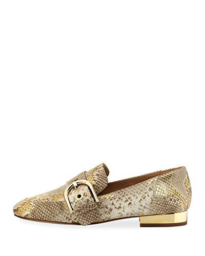 Michael Kors Cooper Slip-On Loafer Flats Natural Gold 8.5M (Flats Gold Michael Kors)
