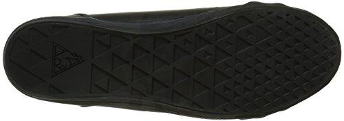 Le Coq Sportif Deauville Plus, Sneakers Basses mixte adulte Noir (Black)