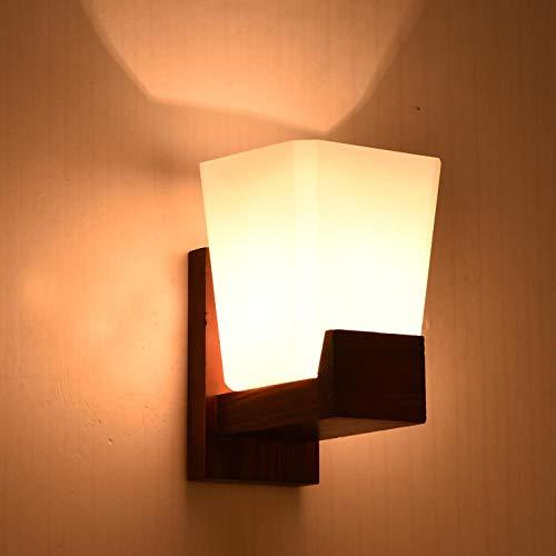 Wandleuchten Wandspots Wandbeleuchtung Wandlichter Lampe Wandleuchte Wandlampen Aussenlampe Japanisch Nordisch Mediterran Amerikanisch Vintage Holz Wandleuchte Ganglicht Wohnzimmerlicht
