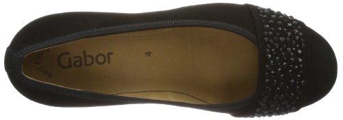 Gabor Shoes Gabor 85.482.17, Scarpe col tacco Donna Nero (Schwarz (schwarz))