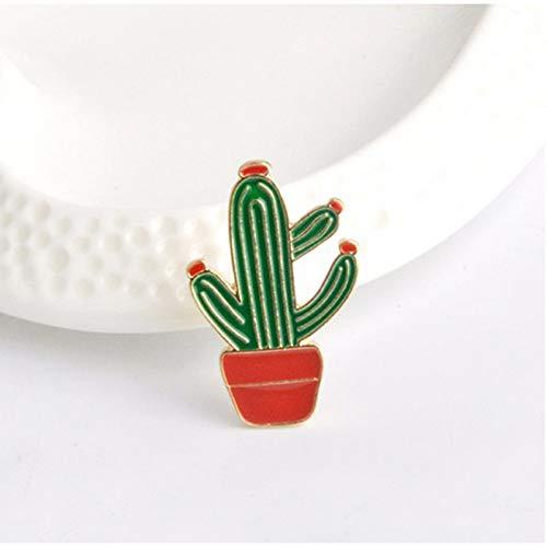 X Faultier! Super Nette Kaktus-Sammlungs-Tier-Partei ist Nicht eine Stichelperlen-Ball-Saguaro-Topf-Kultur-Broschen-Stifte ()