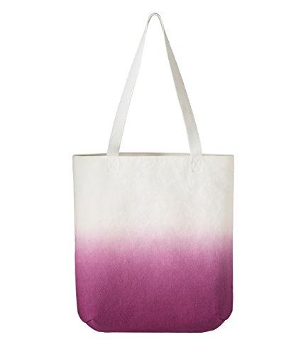 Tasche Damen umhängetasche Baumolle mit lange Tragegriffen 39x37cm Valentingstag Geschenk Henkeltaschen Reise Schultertasche Strandtasche lila (Zen-damen-tasche)