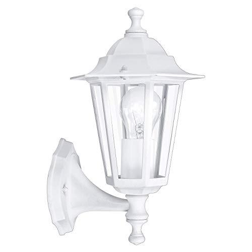 Eglo 22463 Lanterne, aluminium, E27, transparent