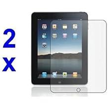 Protector de pantalla - TOOGOO(R) 2x Cubierta protector de pantalla y pano para Apple iPad 2 II
