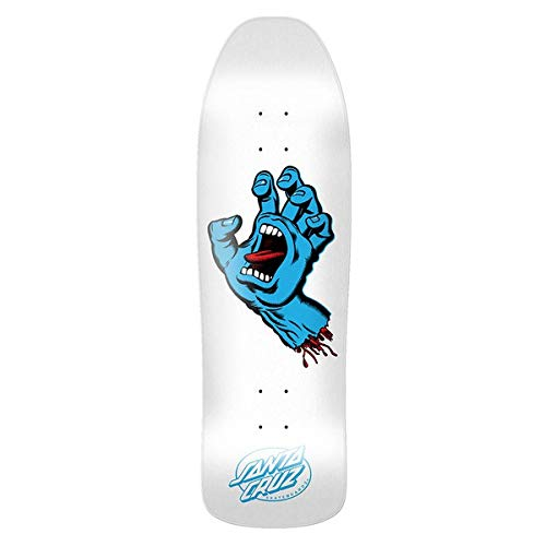 Santa Cruz Skateboard Deck Screaming Hand Shape 9.35 Skate Deck