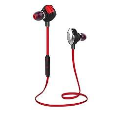 Boat Rockerz 250 In-Ear Wireless Headphones (Red)