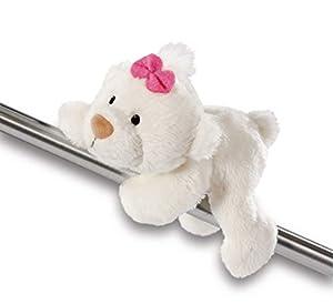 NICI Classic Bear 11 Magnici, Color Blanco 12 cm 43342