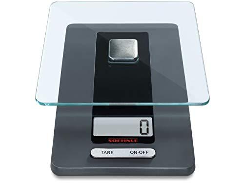 Este peso de cocina digital Fiesta es un verdadero tesoro para su cocina. Ya sea una comida sencilla o un menà de cinco platos, puede con ello. Simple, puede pesar hasta 5 kg. con un margen de error de 1 gr. El plato de pesaje es desmontable para que...