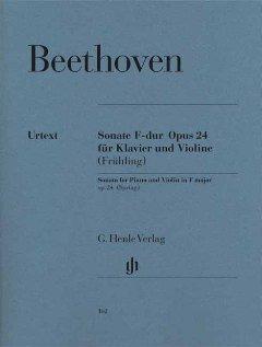 SONATE 5 F-DUR OP 24 (FRUEHLINGSSONATE) - arrangiert für Violine - Klavier [Noten / Sheetmusic] Komponist: BEETHOVEN LUDWIG VAN
