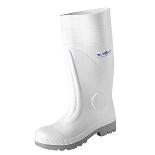 Nordways–Greta, Stiefels Sicherheit EN20345S3 Weiß - weiß