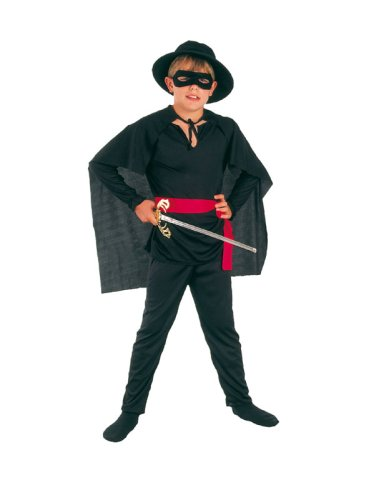 Räuber-Kostüm für Jungen im Alter von 6 - 9 Jahren