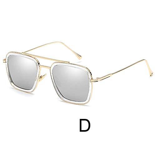 Curitely Polarized Sport Sonnenbrille, 100% UV Schutz, Skifahren Radfahren Fahren Laufen Fischen für Männer und Frauen - D