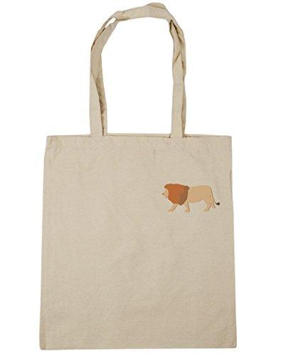 hippowarehouse-lion-pocket-tote-shopping-gym-beach-bag-42cm-x38cm-10-litres