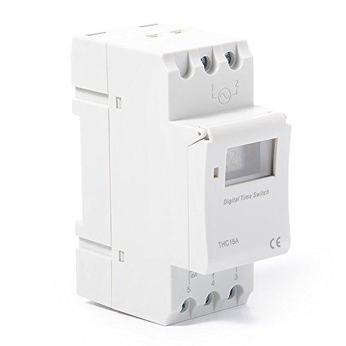 XCSOURCE THC15A Digital LCD Strom Programmierbar Zeit Schalter Elektronischer Timer 110V Für Lichter Elektrische Geräte TH280 - 3
