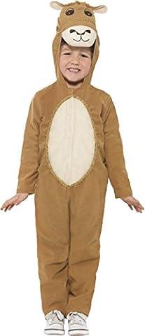 Unisexe pour enfant déguisement Halloween Party livre Jour Animal Chameau Personnage pour - marron - S âge