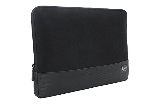 Saco Newbags-01 Laptop Sleeve, Water-Resistant Case For All 14/15/15.6 Inch Laptop (Black)