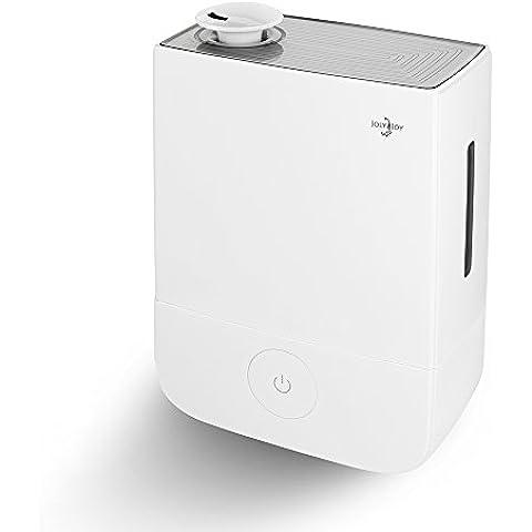 Humidificador ultrasónico, Joly Joy® Humidificador Ultrasónico de Vapor Frío, Humidificadores, Control de Vapor, Purificador aire 360° rotativo