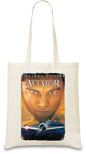 Design Things Der Flieger - The Aviator Custom Printed Tote Bag  100% Soft Cotton  Natural Color & Eco-Friendly  Unique, Re-Usable & Stylish Handbag For Every Day Use  Custom Shoulder Bags By