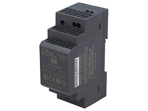 DDR-30G-5 Pwr sup.unit DC/DC 30W 5VDC 6A 9÷36VDC Mounting DIN 120g MEANWELL -