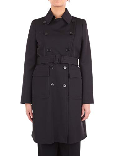 Stella McCartney Damen 517714SLB021000 Schwarz Wolle Trench Coat 5