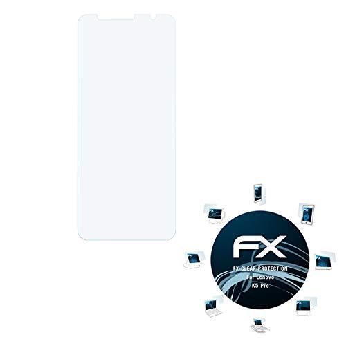 atFolix Schutzfolie kompatibel mit Lenovo K5 Pro Folie, ultraklare FX Bildschirmschutzfolie (3X)