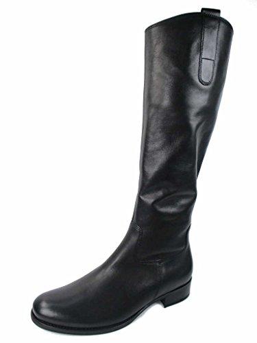 Gabor Damen Langschaftstiefel Schwarz; Dunkel Größe 40 Schwarz (Schwarz)