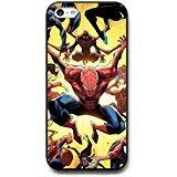 Coque iphone 5C Marvel Comics Coque Shell, Spiderman Phone Cover, Spiderman Protective Slim Coque, Coque iphone 5C Spiderman Cell Phone Coque,Cas De Téléphone