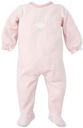 Petit Bateau - Grenouillère - bébé fille - Rose Clair (Joli) - FR: 3 mois (Taille Fabricant : 62 cm)