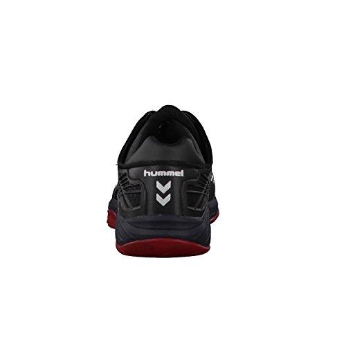 Hummel Omnicourt Z8, Scarpe Sportive Indoor Unisex – Adulto noir/rouge