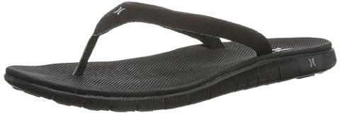Hurley (Shoes) Phantom Nike Free Sandal GSA0000010 Damen Zehentrenner, Schwarz (Black), EU 36 (US 6)