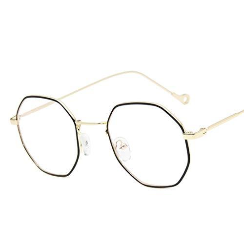 Sinnvoll 2019 Neue Anti Blue Ray Frau Brille Optische Rahmen Metall Runde Brille Rahmen Klare Linse Eyeware Schwarz Silber Gold Auge Glas Angemessener Preis Damenbrillen