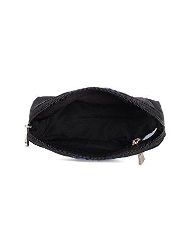 Baggit Lmp Hubert Excel Black Women's Mobile Pouch (8903414584666)