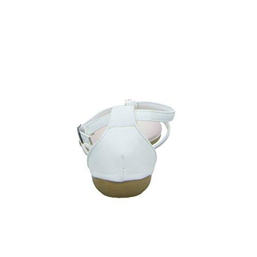 B702180 Absatz Weiß Sandalette Topway weiß Damen 30mm Bis 6wn7dZ