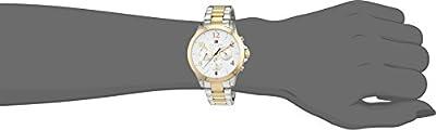Tommy Hilfiger mujer-reloj deporte cuarzo analógico de acero inoxidable recubierto de sofisticado 1781644 de Tommy Hilfiger