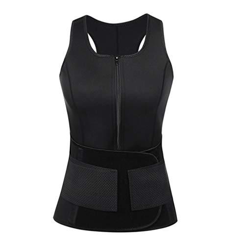 Jwans Frauen, die die Weste abnimmt Taillen-Trainer-Trainings-justierbaren Gurt-Schweiß-Sauna-Korsett-Gurt Shapewear Formen -