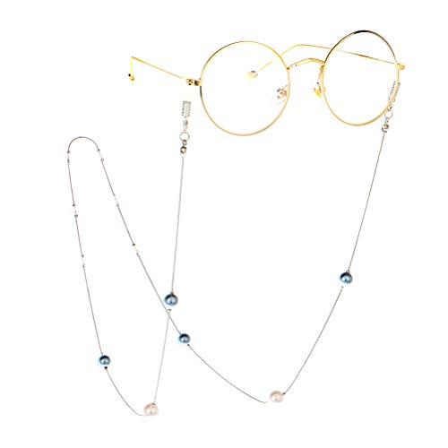 TENDYCOCO Pearl Brillenkette Kette Lesung Glas Kette Kordel Frauen Sonnenbrille Haltegurt