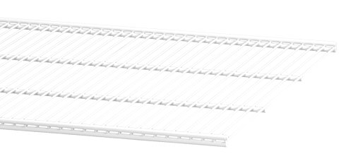 ELFA 45191090x 50mm Draht Regal Klammern–Weiß (Draht Regal Klammern)