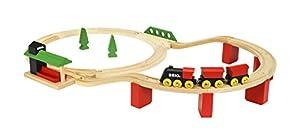 BRIO 33424 trene de Juguete - Trenes de Juguete (Multicolor, Madera, 2 año(s), CE, FSC, 806 mm, 518 mm)