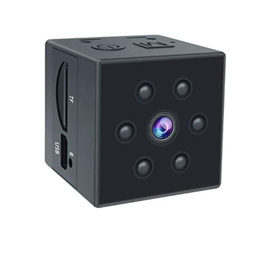 Luxnwatts Mini Kamera Kleine Überwachungskamera Full HD 1080P Tragbare Nanny Cam mit Bewegungserkennung und Infrarot Nachtsicht (Hidden Cam)