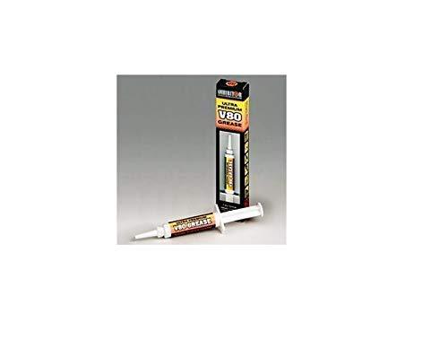 Inhibitor V80 Ultra Premium Fett Vci Korrosion Schutz in einem Easy Applikator die Spritze. Ideal für Schrotflinten (Gun Spule Gewinde & Empfänger),Werkzeuge,Fishing Kit,Fahrrad,Auto & Segel Artikel - Spritze Gun öl