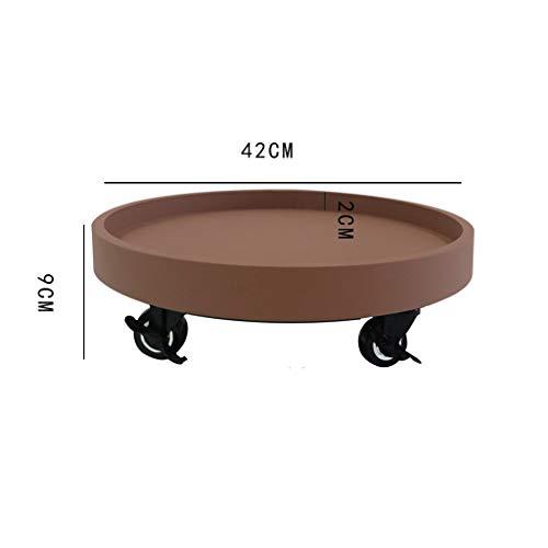 QiansejiyiHJ Pflanzen-Caddy, Garten-dekorativer Ständer Home Storage Regal Display-Halter (Kunststofffolie + Wasserdichte Latexfarbe) (größe : 40CM)