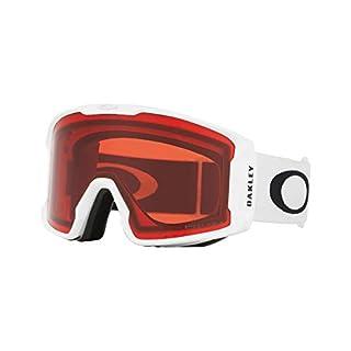 Oakley Herren Schneebrille Line Miner XM Matte White Goggle