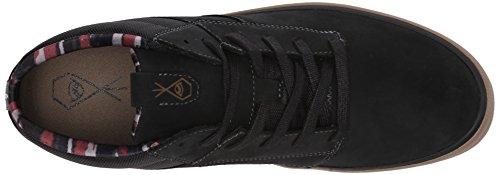 Volcom Grimm Mid 2 Shoe Sneaker Alta Uomo Nero schwarz new Black