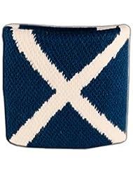 Digni® Poignet éponge avec drapeau Ecosse
